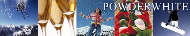 Powder White Ski Chalets