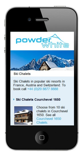 Mobile Ski Holidays